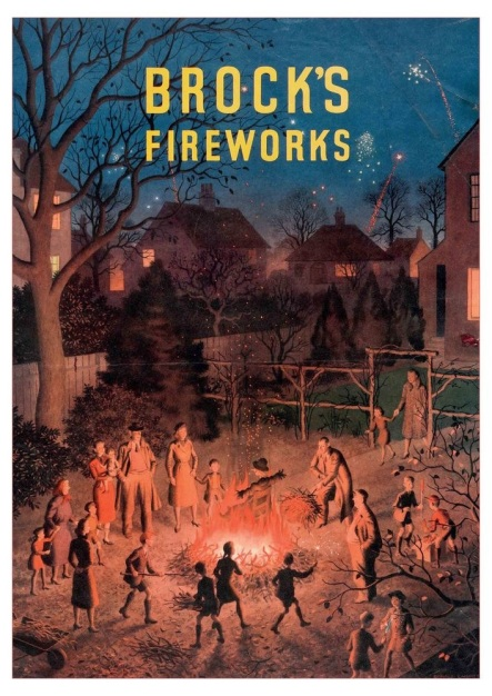 Brocks Fireworks Poster From The Museum of British Folklore